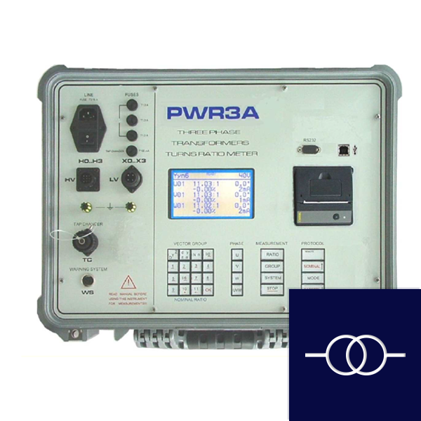 Testequipment for distribution and power transformers